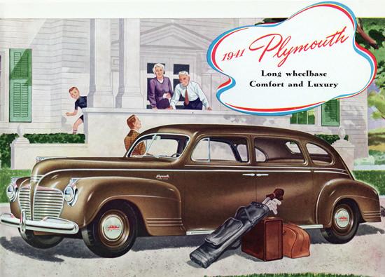 Plymouth Special DeLuxe 7 P Sedan 1941 Luxury | Vintage Cars 1891-1970