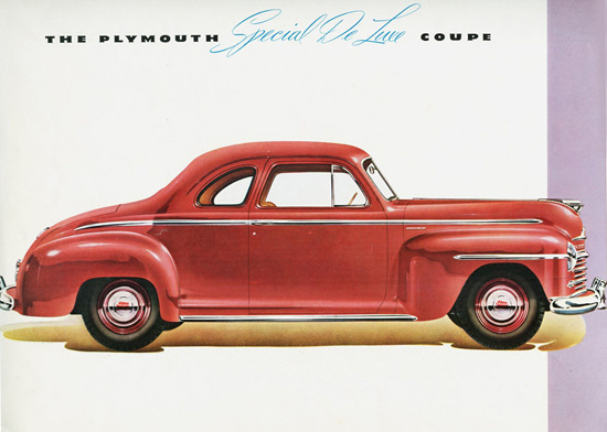Plymouth Special DeLuxe Coupe 1946 | Vintage Cars 1891-1970