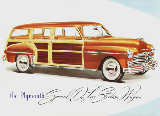 Plymouth Special DeLuxe Station Wagon 1949 | Vintage Cars 1891-1970