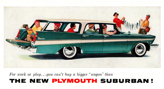 Plymouth Sport Suburban 1957 For Work Or Play | Vintage Cars 1891-1970