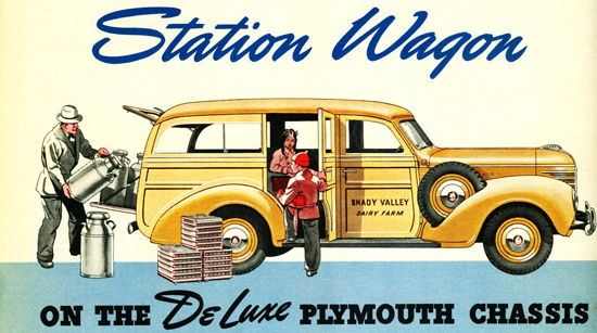 Plymouth Station Wagon 1939 | Vintage Cars 1891-1970