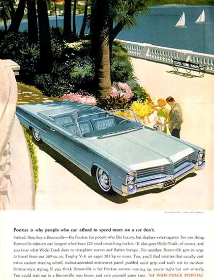 Pontiac 1964 Baby Blue | Vintage Cars 1891-1970