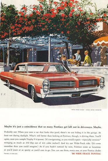 Pontiac 1964 Red | Vintage Cars 1891-1970