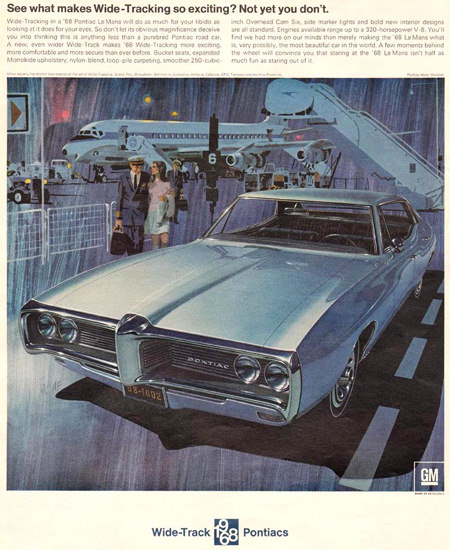 Pontiac 1967 For 1968 Airport | Vintage Cars 1891-1970