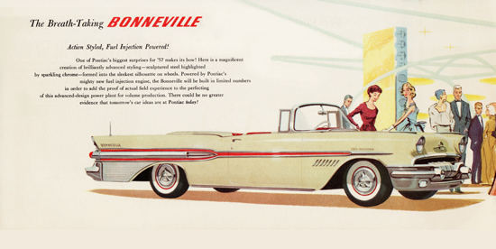 Pontiac Bonneville 1957 The Breath Taking | Vintage Cars 1891-1970