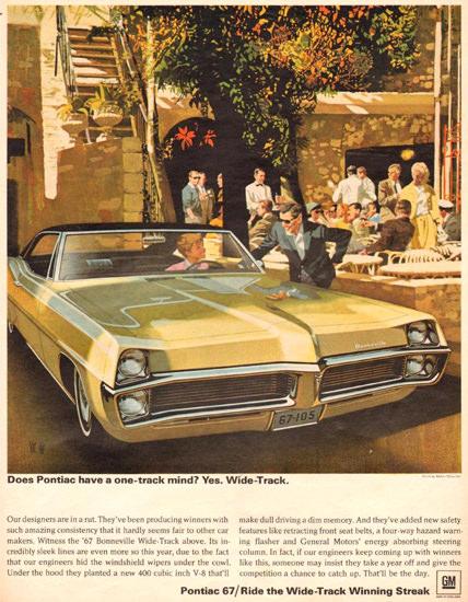 Pontiac Bonneville 1966 Cafe | Vintage Cars 1891-1970