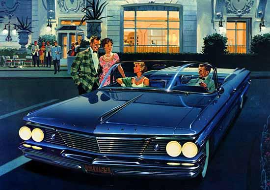 Pontiac Bonneville Convertible Coupe 1960 Ad | Vintage Cars 1891-1970
