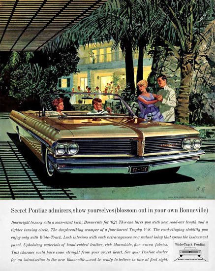 Pontiac Bonneville Secret Gold 1962 | Vintage Cars 1891-1970