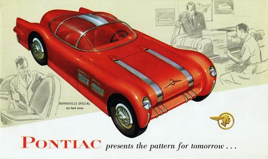 Pontiac Bonneville Special 1954 Pattern Tomorrow | Vintage Cars 1891-1970