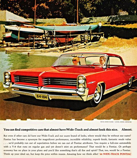 Pontiac Bonneville Sports Coupe 1964 Almost | Vintage Cars 1891-1970