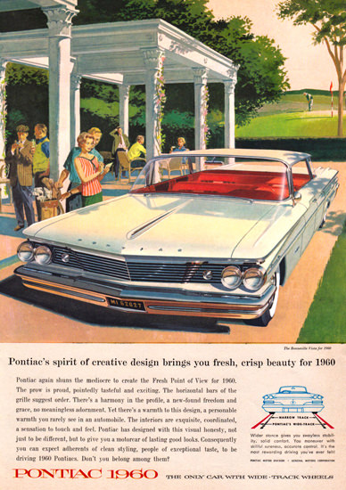 Pontiac Bonneville Vista Spirit 1960 Wide Track | Vintage Cars 1891-1970
