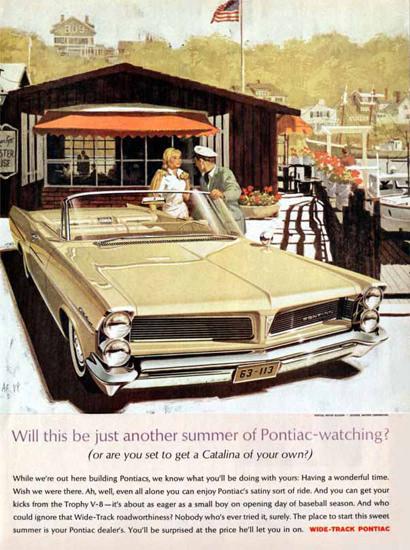 Pontiac Catalina 1963 Harbor   Vintage Cars 1891-1970