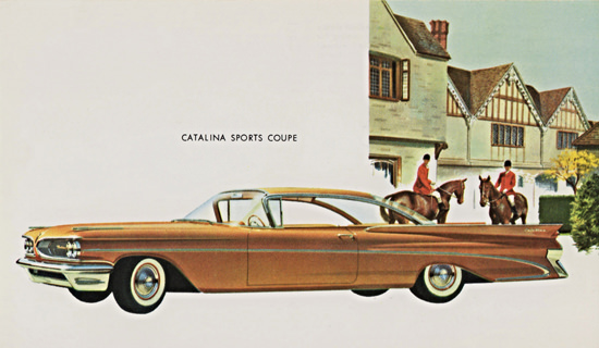 Pontiac Catalina Sports Coupe 1959 | Vintage Cars 1891-1970