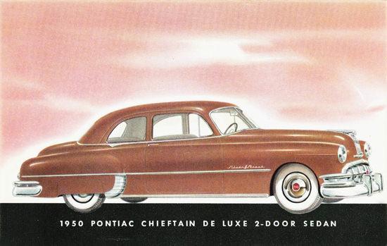 Pontiac Chieftain DeLuxe 2 Door Sedan 1950 | Vintage Cars 1891-1970