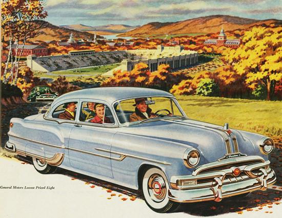 Pontiac Chieftain DeLuxe 2 Door Sedan 1953 | Vintage Cars 1891-1970
