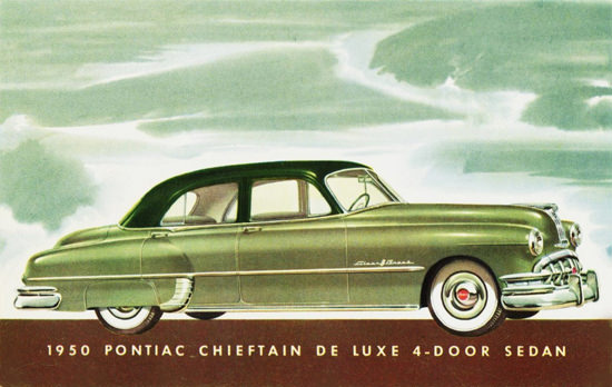 Pontiac Chieftain DeLuxe 4 Door Sedan 1950 | Vintage Cars 1891-1970