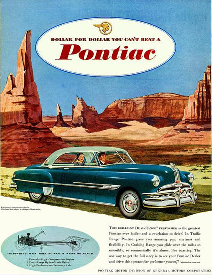 Pontiac Dual Range Monument Valley For Dollar | Vintage Cars 1891-1970