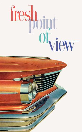 Pontiac Fresh Point Of View 1960 | Vintage Cars 1891-1970