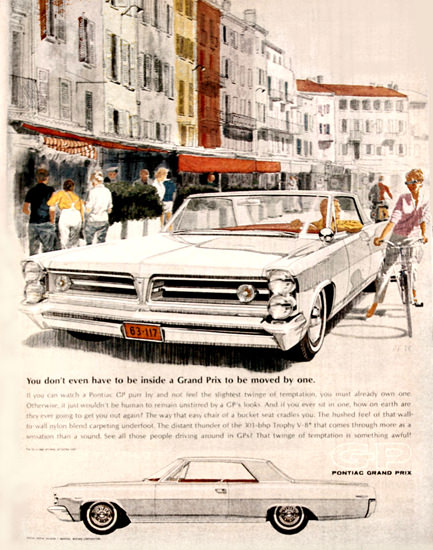 Pontiac Grand Prix 1963 Europe   Vintage Cars 1891-1970