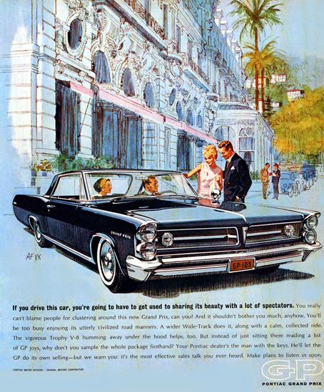 Pontiac Grand Prix 1963 Hotel | Vintage Cars 1891-1970