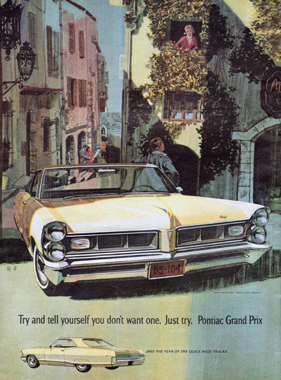 Pontiac Grand Prix 1964 Europe | Vintage Cars 1891-1970
