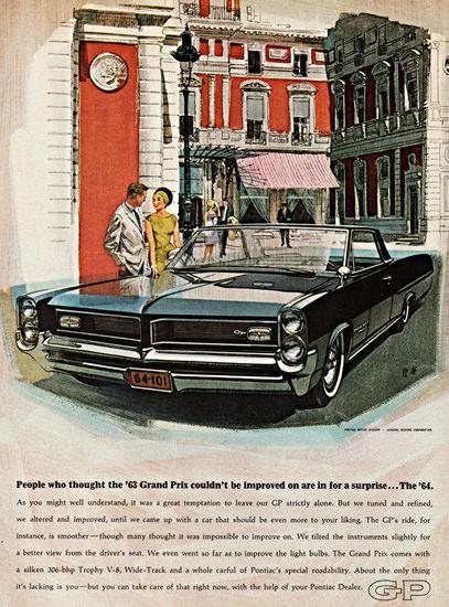 Pontiac Grand Prix Sports Coupe 1964 Surprise | Vintage Cars 1891-1970