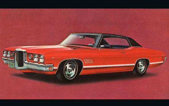 Pontiac Hardtop Coupe 1970 Red In Red | Vintage Cars 1891-1970