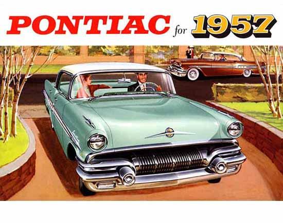 Pontiac Laurentian 1957 Ad | Vintage Cars 1891-1970
