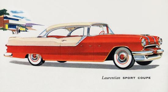 Pontiac Laurentian Sport Coupe 1955 | Vintage Cars 1891-1970
