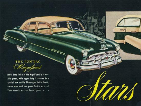 Pontiac Magnificent 1950 | Vintage Cars 1891-1970