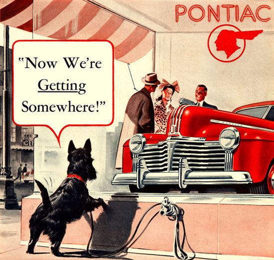 Pontiac Now Were Getting Something 1941 | Vintage Cars 1891-1970