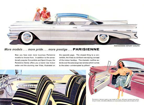 Pontiac Parisienne Sport Coupe White | Vintage Cars 1891-1970