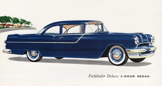 Pontiac Pathfinder Deluxe Sedan 1955 | Vintage Cars 1891-1970