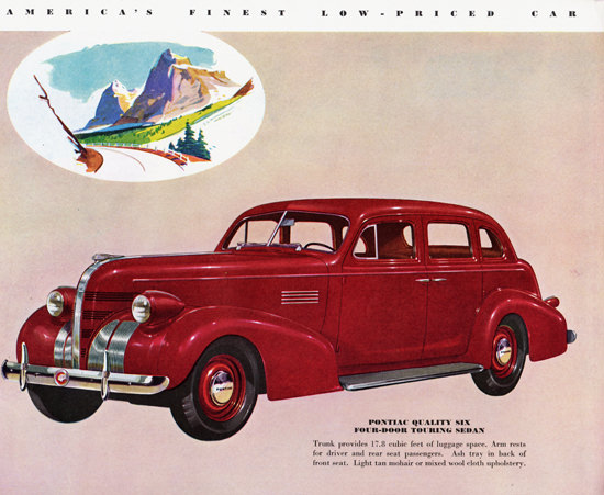 Pontiac Quality Six Touring Sedan 1939 | Vintage Cars 1891-1970