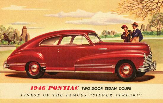 Pontiac Sedan Coupe 1946 | Vintage Cars 1891-1970
