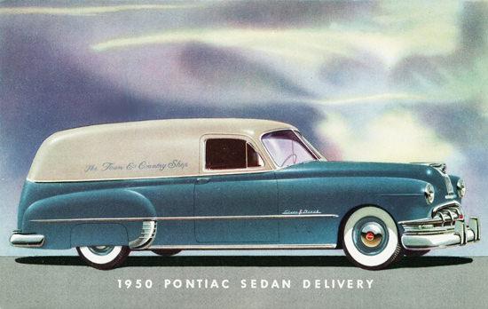 Pontiac Sedan Delivery 1950 | Vintage Cars 1891-1970