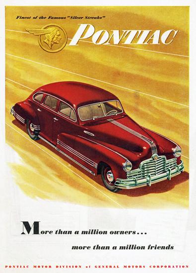 Pontiac Silver Streaks 1946 | Vintage Cars 1891-1970