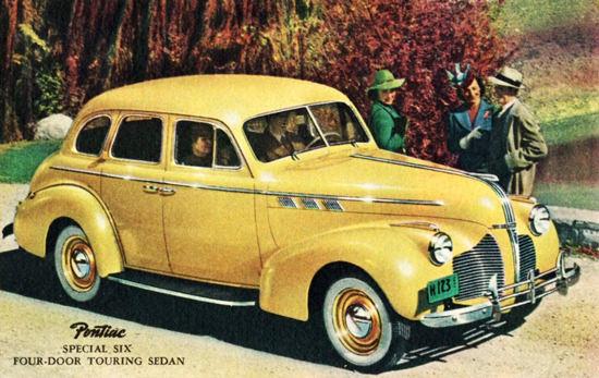 Pontiac Special Six Touring Sedan 1940 | Vintage Cars 1891-1970