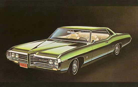 Pontiac Sport Coupe 1969 Green | Vintage Cars 1891-1970