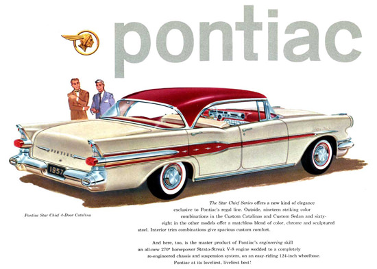Pontiac Star Chief 4 Door Catalina 1957 | Vintage Cars 1891-1970
