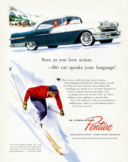 Pontiac Star Chief Catalina 1956 Action Language | Vintage Cars 1891-1970