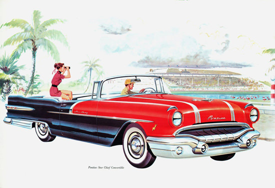 Pontiac Star Chief Convertible 1956 | Vintage Cars 1891-1970