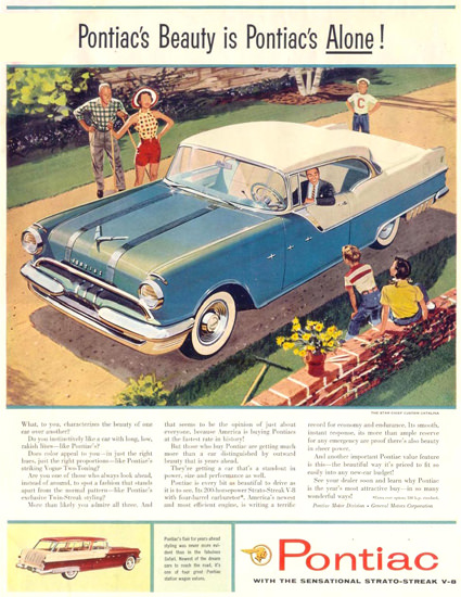 Pontiac Star Chief Custom Catalina 1955 | Vintage Cars 1891-1970