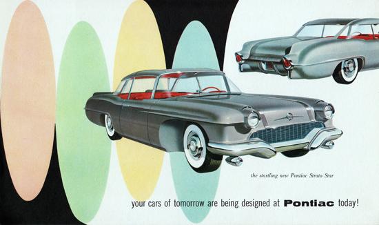 Pontiac Strato Star 1955 Tomorrow Designed At | Vintage Cars 1891-1970