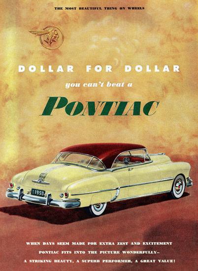Pontiac Super De Luxe Catalina 1950 Extra Zest | Vintage Cars 1891-1970