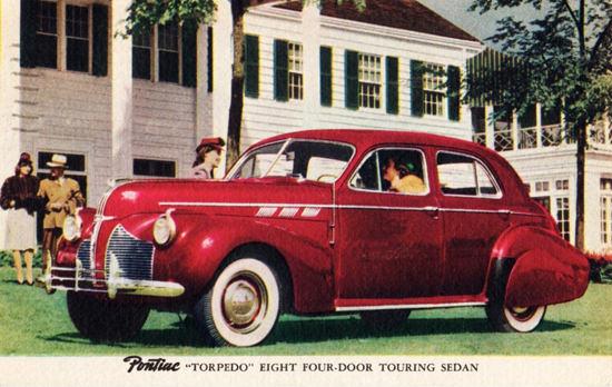 Pontiac Torpedo Eight Touring Sedan 1940 | Vintage Cars 1891-1970
