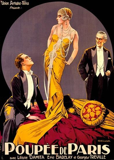 Poupee De Paris Film Liliane Damita Eric Barclay | Sex Appeal Vintage Ads and Covers 1891-1970