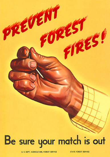 Prevent Forest Fires 1964 State Forest Service   Vintage Ad and Cover Art 1891-1970