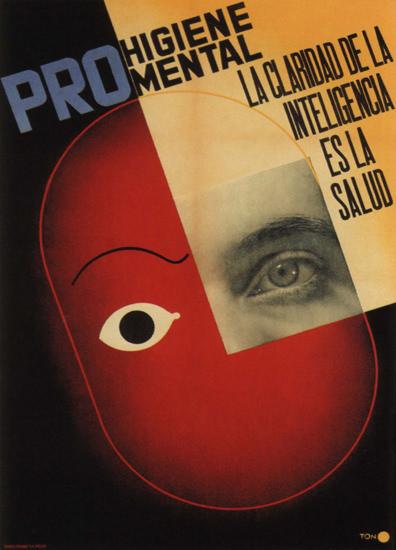 Pro Higiene Mental Spain Espana | Vintage War Propaganda Posters 1891-1970