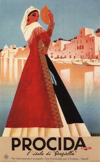 Procida L Isola Di Graziella Island Of Grace Italia | Sex Appeal Vintage Ads and Covers 1891-1970